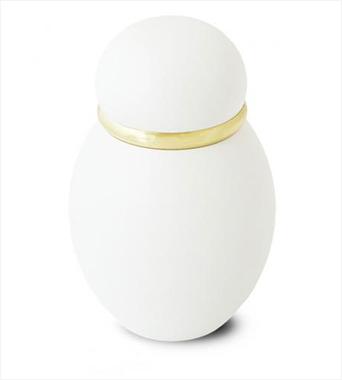 ミニ骨壷|パステル カラー:ホワイト