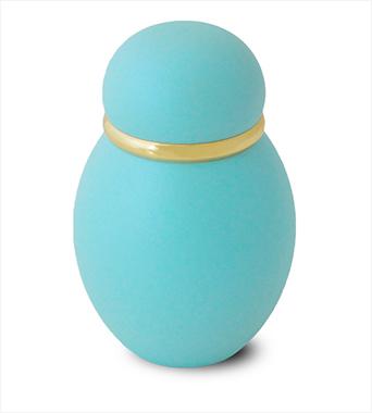 ミニ骨壷|パステル カラー:ブルー