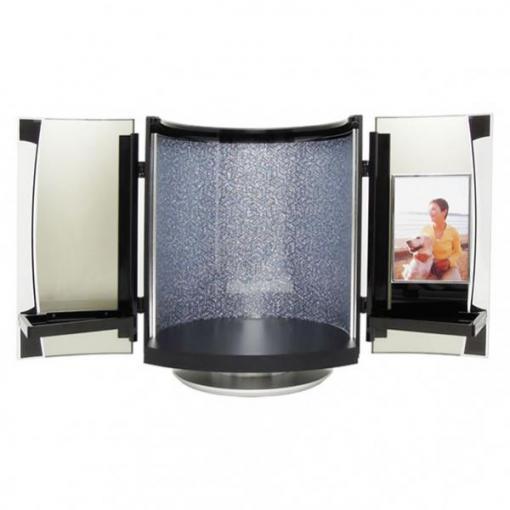 デザインミニ仏壇|自宅墓|soreaソレア・瑠璃輝(写真を飾れるフォトフレーム付き仏壇)
